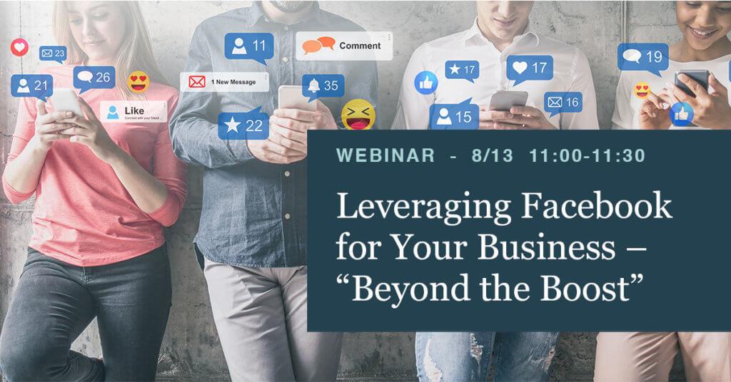 Leveraging FB for Business Webinar - flyte new media