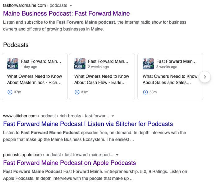 How Podcasts Appear on Search Engines (Google & Bing)