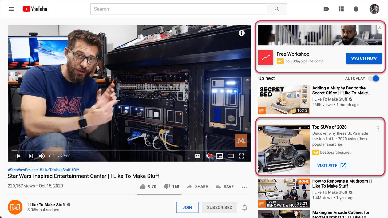 Google Ads: Video Campaign