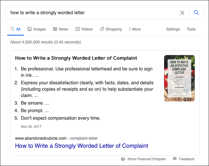 Complaint Letter Google Result - flyte new media
