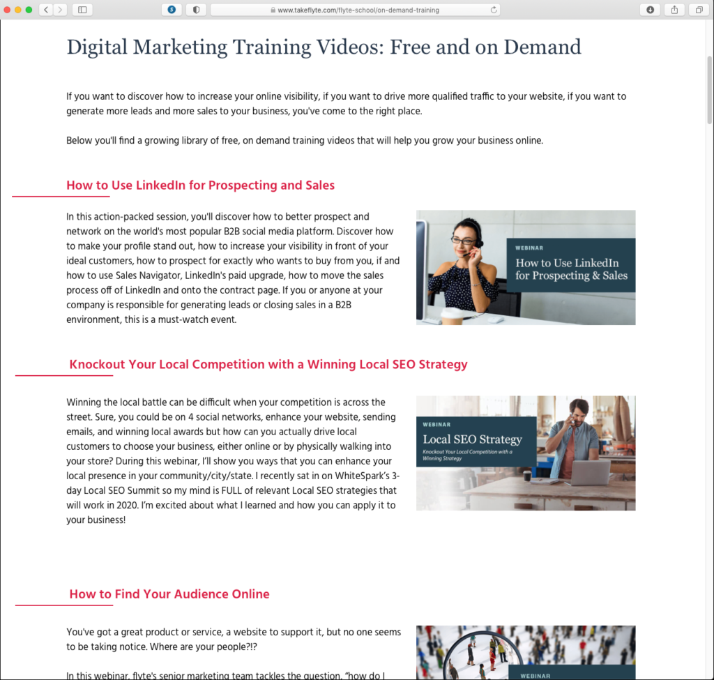 Making Your Webinars On Demand