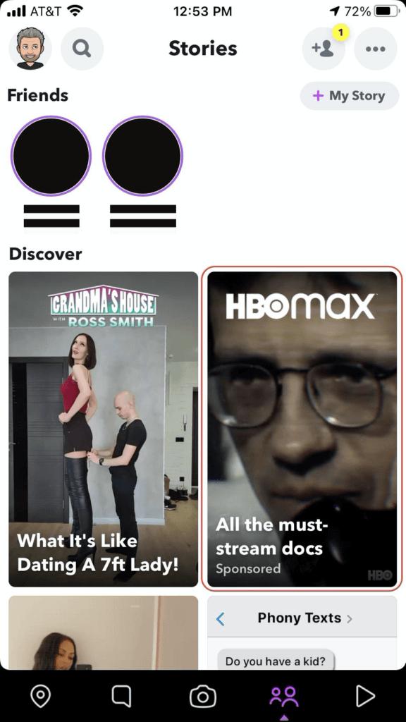 SnapChat Ad - flyte new media