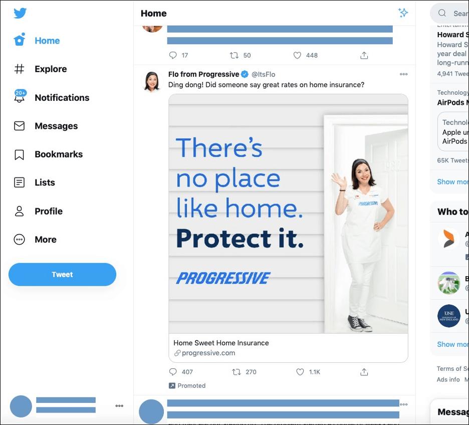 Twitter Ad - flyte new media